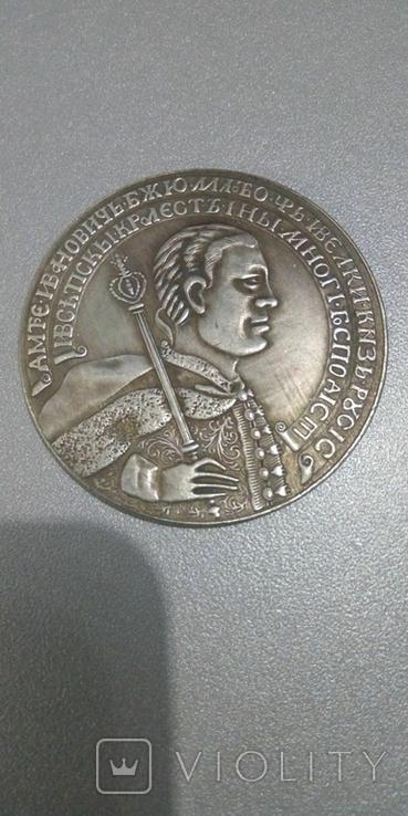 Рубль 1605 года коронация Лжедмитрия копия, фото №2