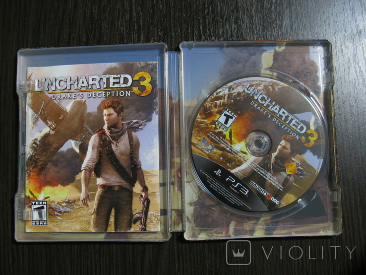 Стилбук PS 3 Uncharted 3, фото №2