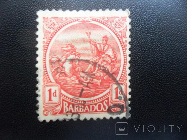 Британские колонии. Барбадос. гаш