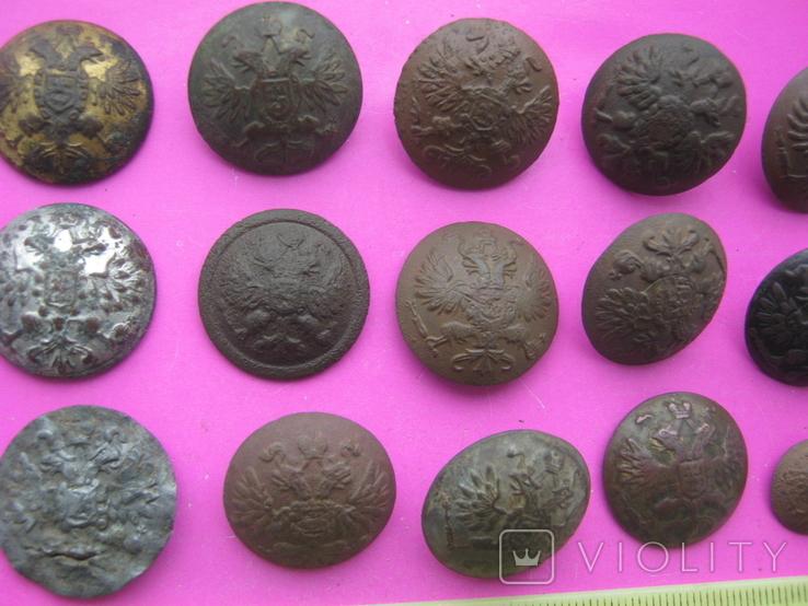 Колекція царських пуговиць з різними написами, фото №3