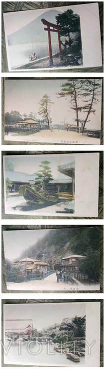 Император Мейдзи (Муцухито)+15 видов Японии, фото №5