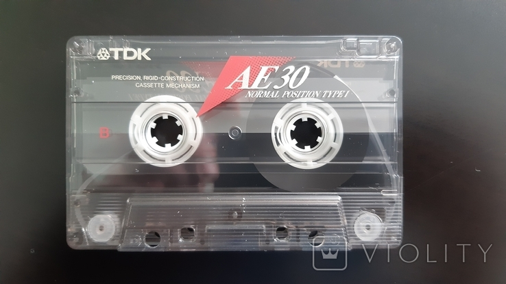 Касета TDK AE 30 (Release year: 1996), фото №5
