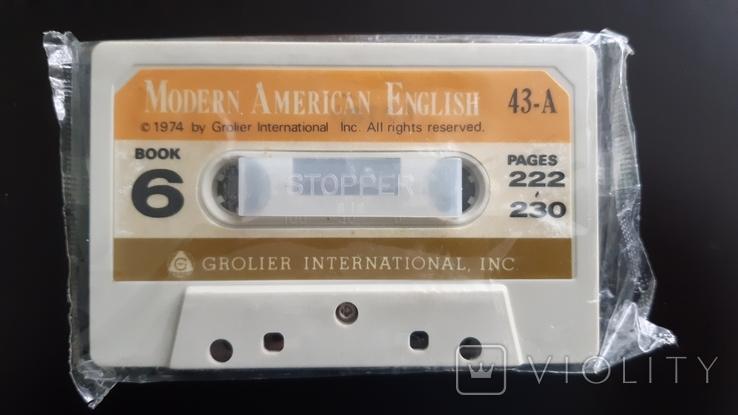 Касета Modern American English 1974, фото №3
