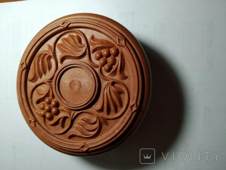 Шкатулка кругла (пластик), фото №2