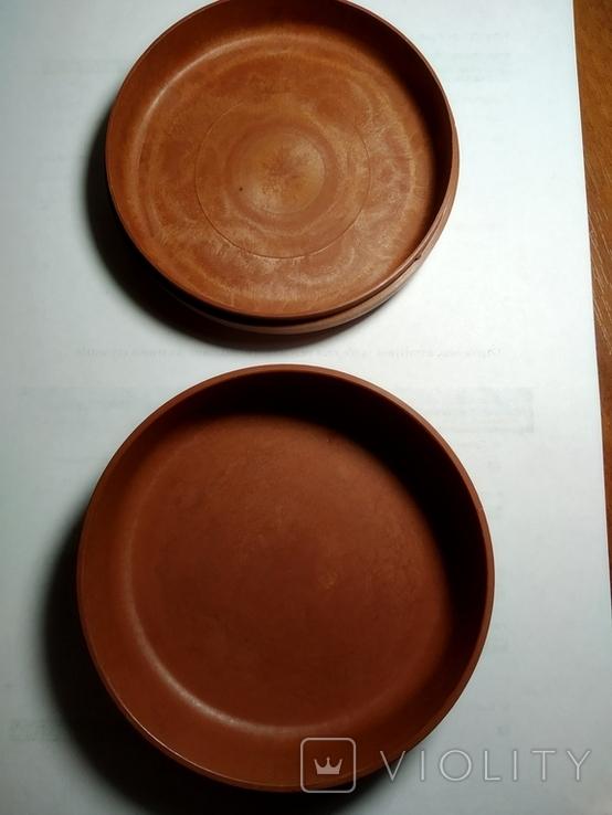 Шкатулка кругла (пластик), фото №4