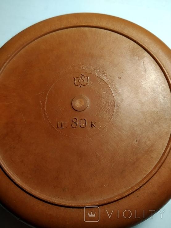 Шкатулка кругла (пластик), фото №5