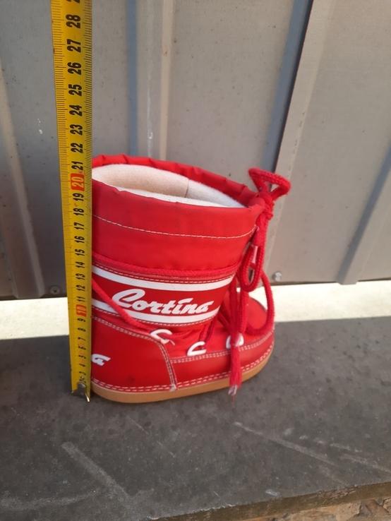 Теплі зимові чобітки., фото №4