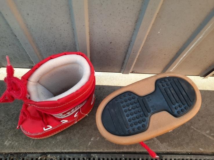 Теплі зимові чобітки., фото №9