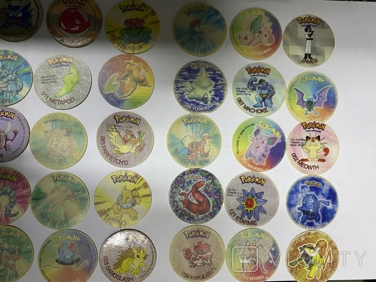 Коллекция Pokmon (Покемоны) фишки., фото №3