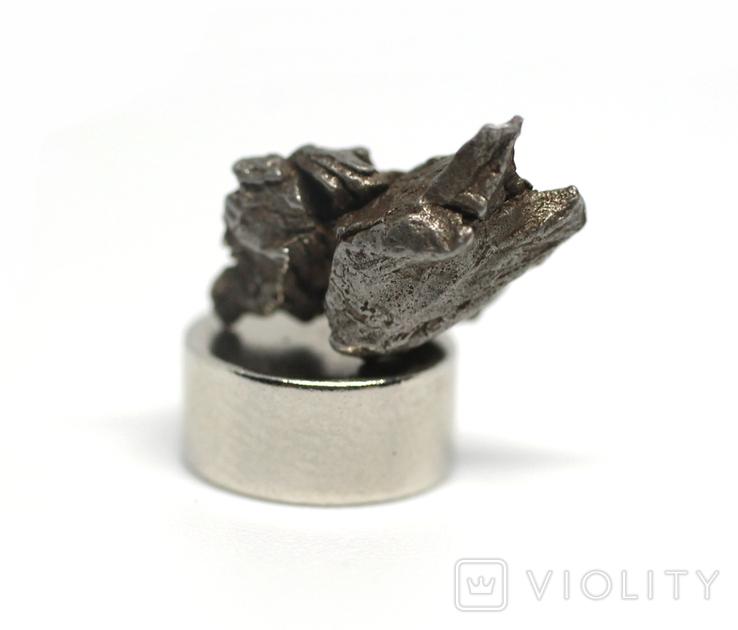 Залізний метеорит Campo del Cielo, 1,5 грам, із сертифікатом автентичності, фото №2