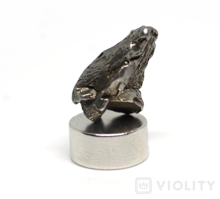 Залізний метеорит Campo del Cielo, 1,7 грам, із сертифікатом автентичності, фото №2