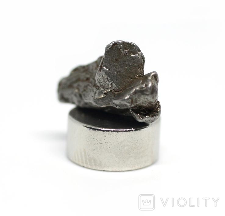 Залізний метеорит Campo del Cielo, 1,7 грам, із сертифікатом автентичності, фото №9