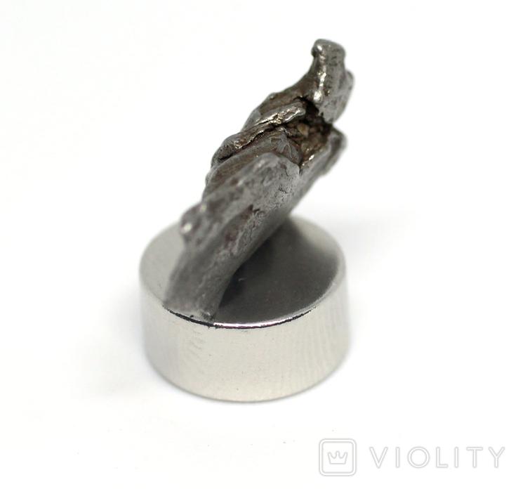 Залізний метеорит Campo del Cielo, 1,6 грам, із сертифікатом автентичності, фото №10