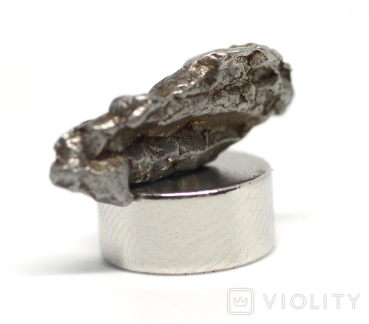 Залізний метеорит Campo del Cielo, 1,3 грам, із сертифікатом автентичності, фото №6