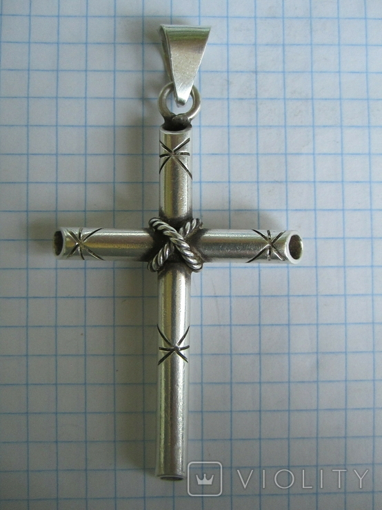 Крест из серебра., фото №10