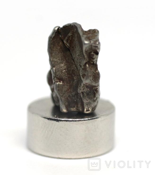 Залізний метеорит Campo del Cielo, 1,7 грам, із сертифікатом автентичності, фото №6