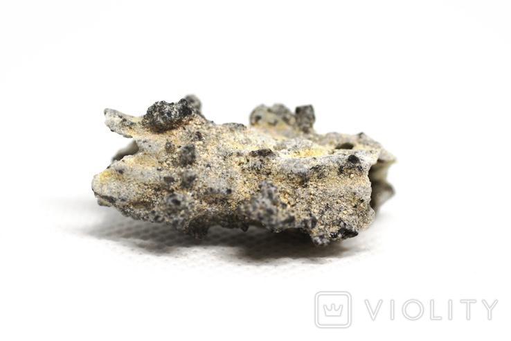Фрагмент фульгурита, 2,5 грам, з сертифікатом автентичності, фото №5