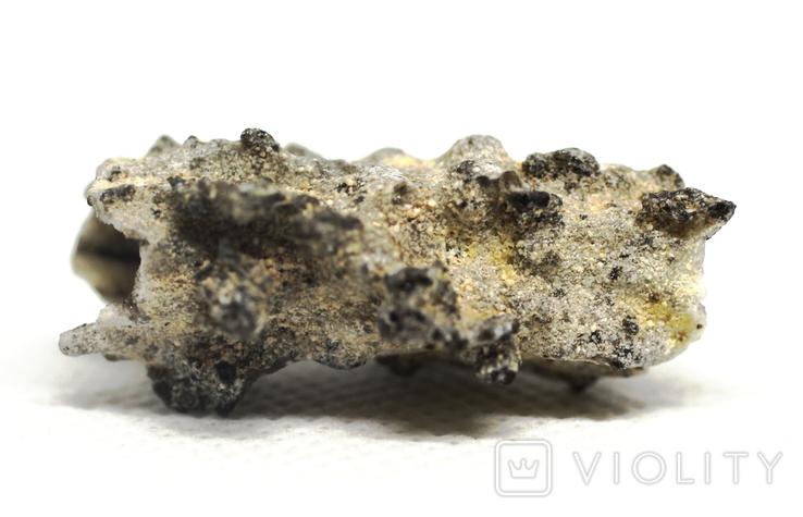 Фрагмент фульгурита, 2,5 грам, з сертифікатом автентичності, фото №8