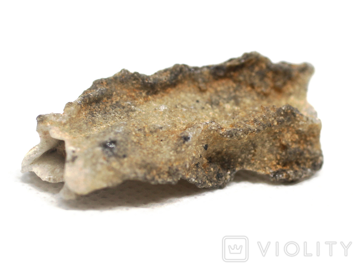 Фрагмент фульгурита, 3,6 грам, з сертифікатом автентичності, фото №7