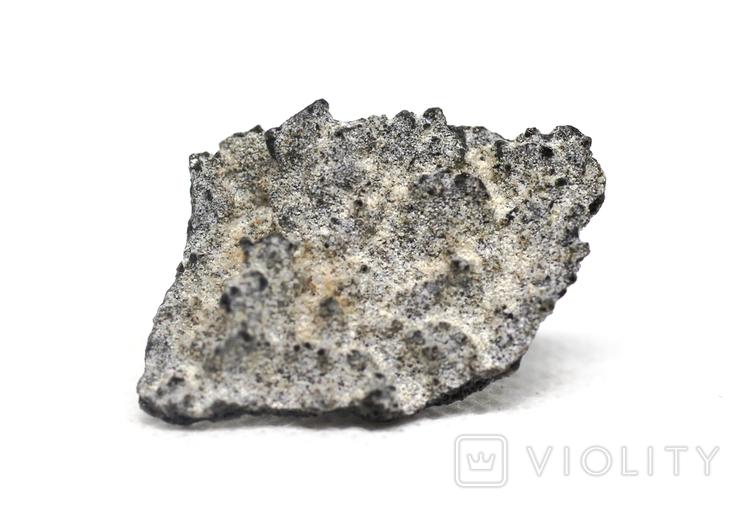 Фрагмент фульгурита, 1,9 грам, з сертифікатом автентичності, фото №2