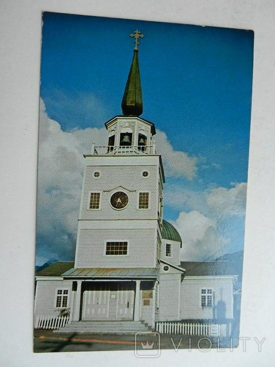 Аляска Ситка русская церковь Архангела Михаила, фото №2