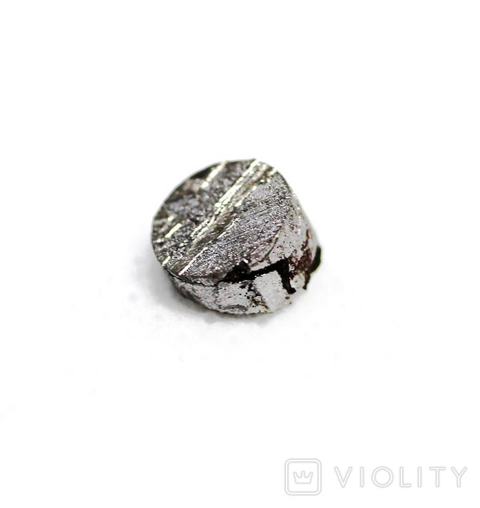Заготовка-вставка з метеорита Seymchan, 0,6 г, із сертифікатом автентичності, фото №5