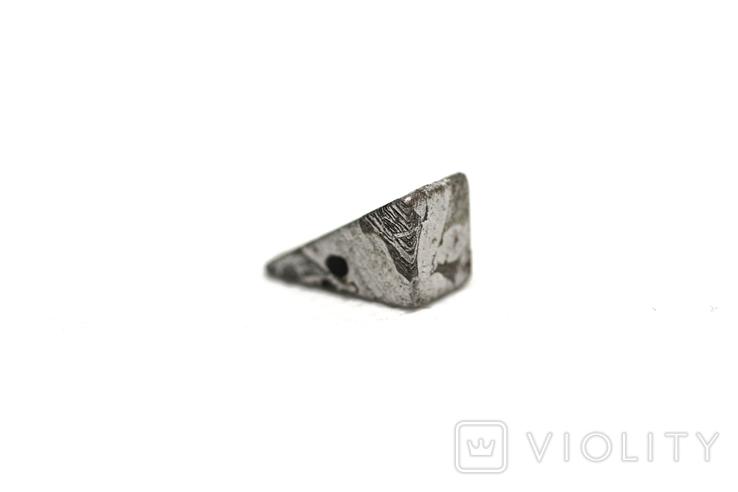 Заготовка-вставка з метеорита Seymchan, 2,4 г, із сертифікатом автентичності, фото №7