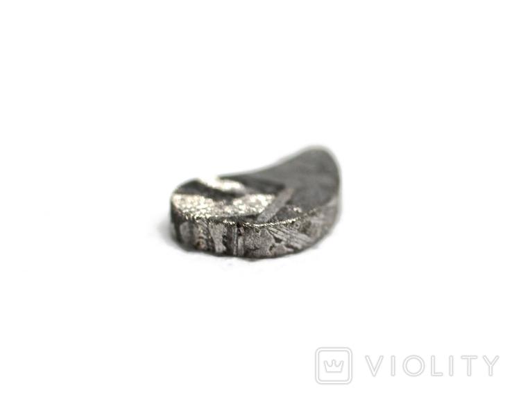 Заготовка-вставка з метеорита Seymchan, 1,7 г, із сертифікатом автентичності, фото №6
