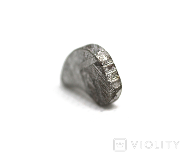 Заготовка-вставка з метеорита Seymchan, 1,7 г, із сертифікатом автентичності, фото №12