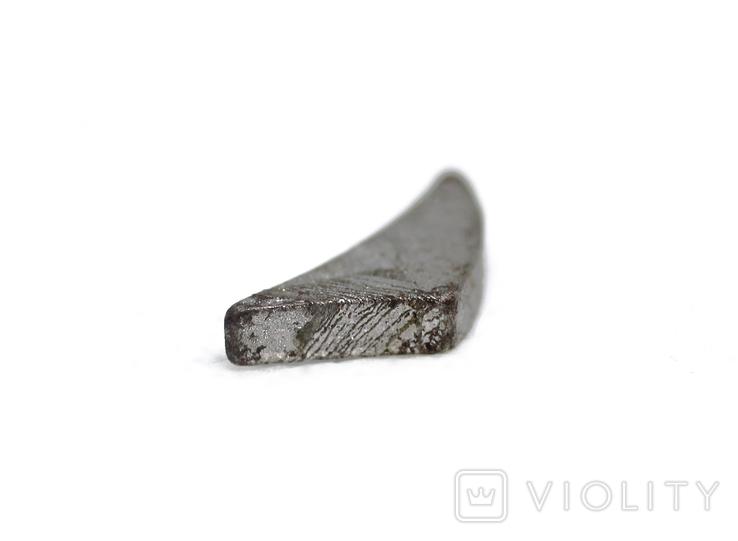 Заготовка-вставка з метеорита Seymchan, 1,0 г, із сертифікатом автентичності, фото №7
