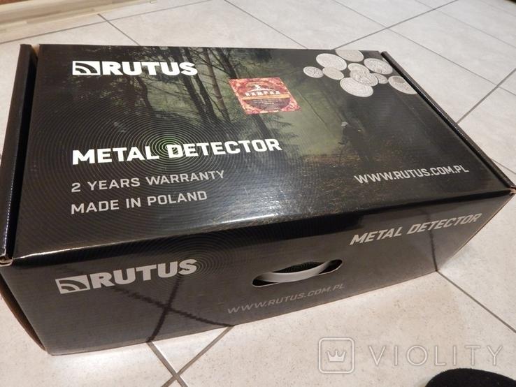 Металлоискатель Rutus Alter 71 с катушкой DD 28 см. Новый, фото №12
