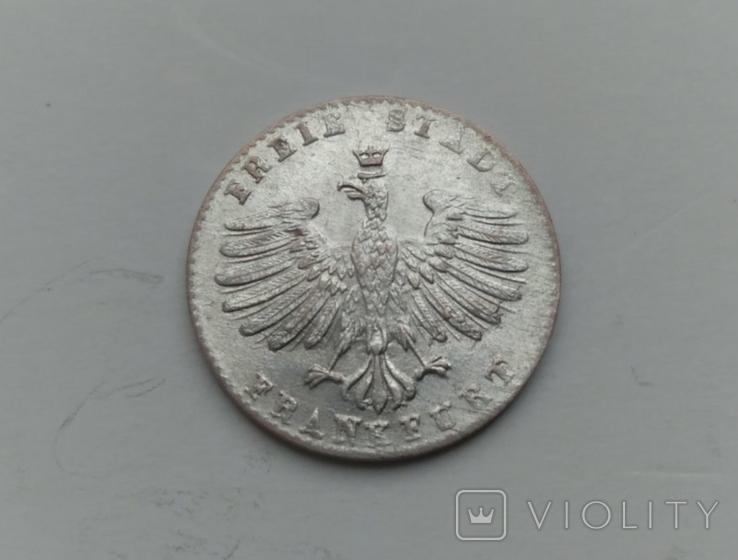 Крейцер 1856 Франкфурт, фото №2