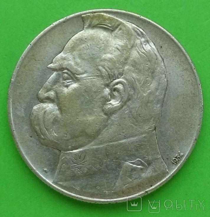 10 злот, 1934 год, Польша,, фото №5