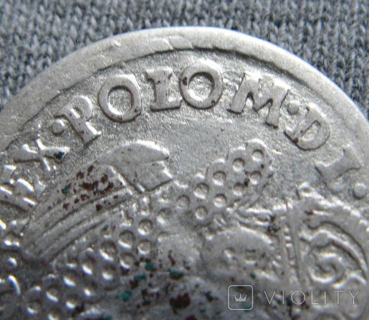 Трояк 1623 года. Сиг. ІІІ Ваза ( SIGIS ... POLO )., фото №4