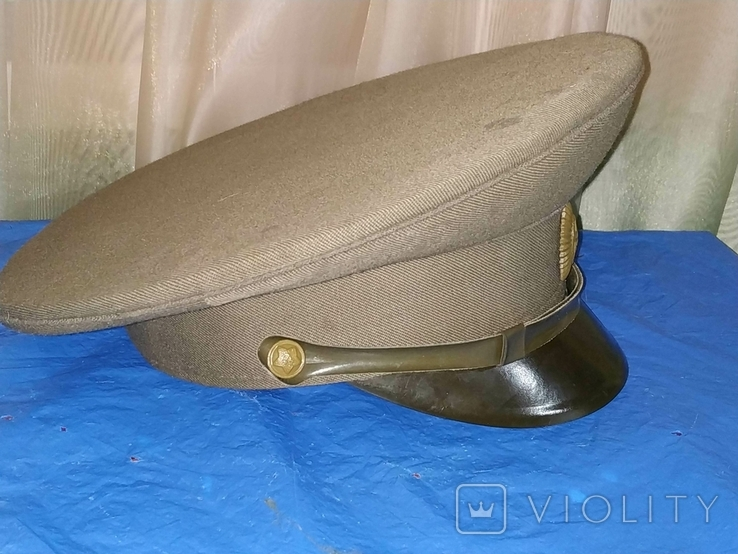 Фуражка офицерская полевая СССР, фото №3