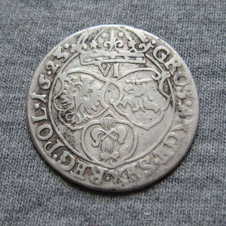 Шестак 1623 года ( дата 16 . 23 ). Сиг. ІІІ Ваза., фото №2