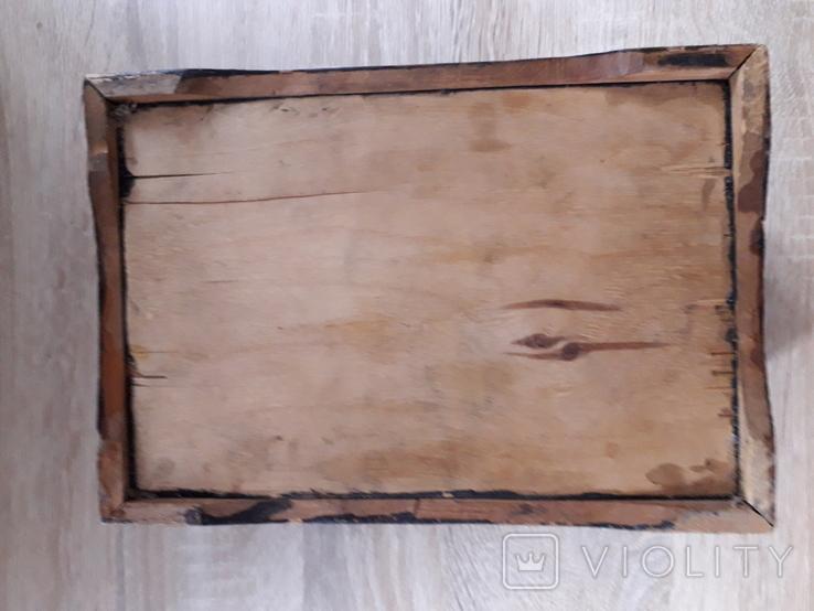 Шкатулка деревянная с орнаментом., фото №7