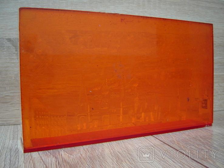 Сувенир СССР Оргстекло Москва - Красная площадь, фото №12