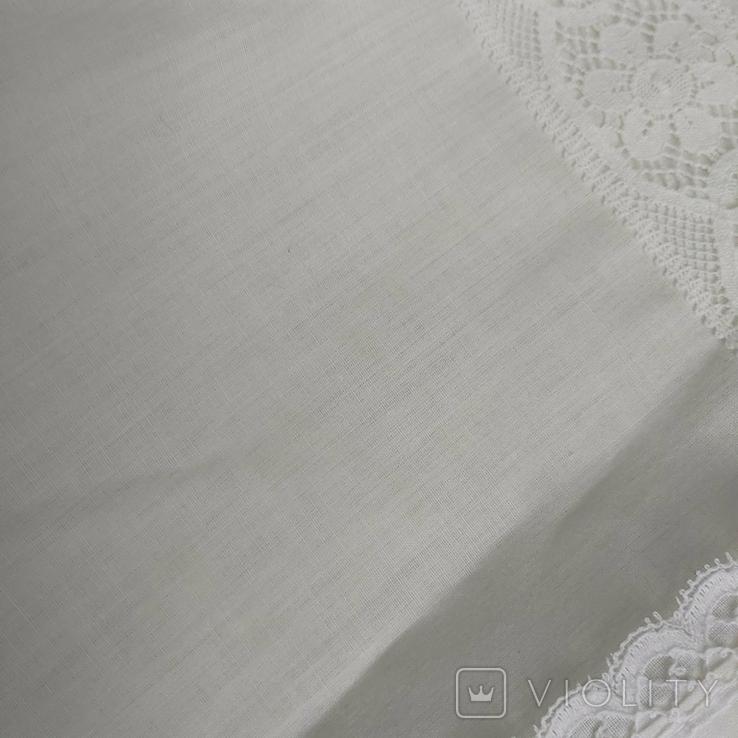 Сорочка ретро с кружевом СССР, фото №9