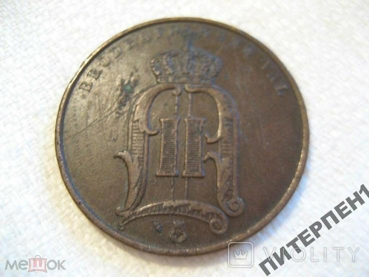 Швеция 5 эре 1891 г, фото №3