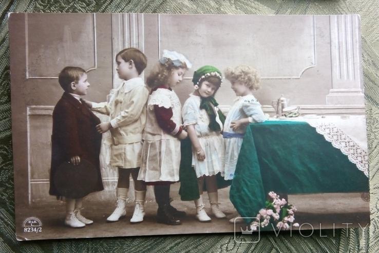 Дети. 4 фотооткрытки, фото №5
