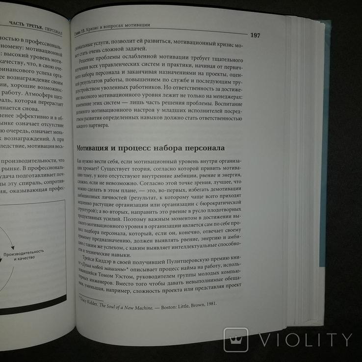Бизнес книга Управление фирмой Дэвид Майстер 2003, фото №9