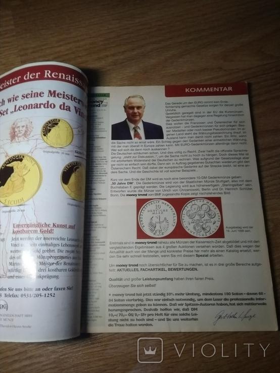 Журнал по нумизматике с каталогом монет Германии и Австрии, фото №3