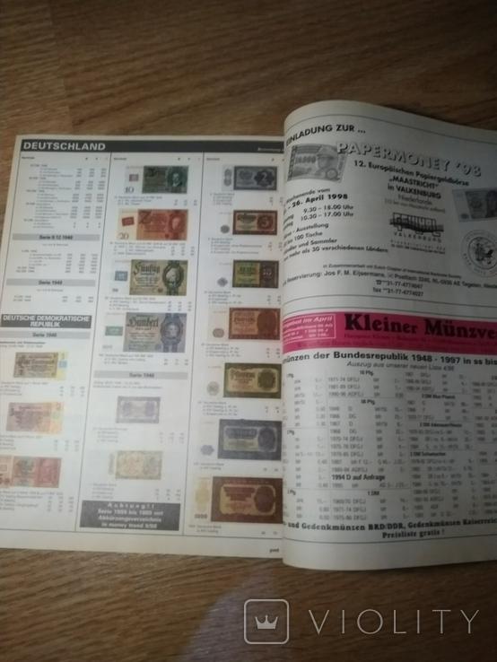 Журнал по нумизматике с каталогом монет Германии и Австрии, фото №11