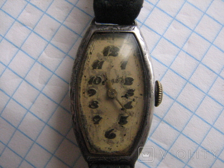 Часы Cortebert серебро 935 проба.Swiss., фото №3