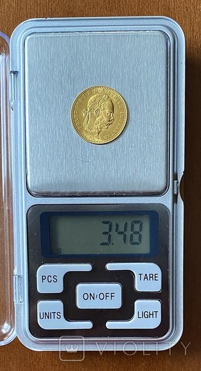 1 дукат. 1915. Франк Иосиф. Австрия (золото 986, вес 3,48 г), фото №5