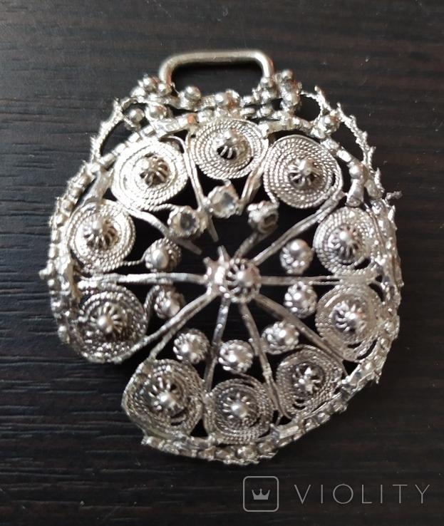 Підвіска срібна, фото №2