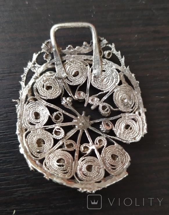 Підвіска срібна, фото №3