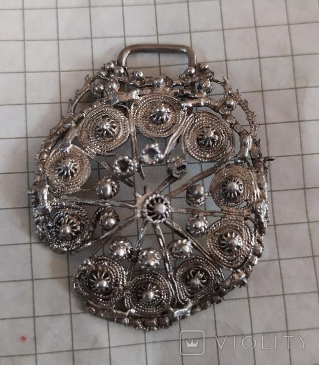 Підвіска срібна, фото №4