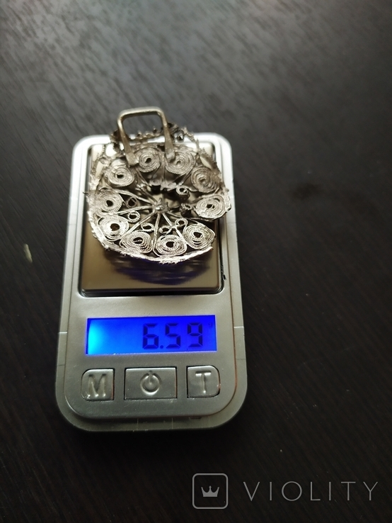 Підвіска срібна, фото №5